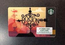 2018 Starbucks Boston Card - New!