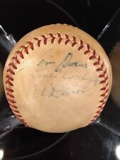 1960 PHIL PHILLIES GAME BALL With 5 Signatures: Gene Conley, etc PSA/DNA LOA