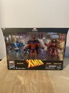 Marvel Legends Family Matters Amazon Exclusive MAGNETO QUICKSILVER SCARLET WITCH