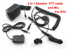 Radio-Tone RT4 Hand Free PTT Remote Button External Speaker & Mic for Mobile Car