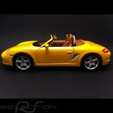 Porsche Boxster S 987 jaune 1/18 Maisto 31123