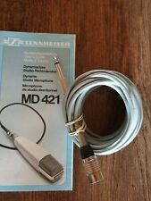 Sennheiser MD 421 Mikrofonkabel