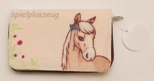 NICI 37853 Soulmates Pferd Diamond beige Plüsch Portmonee groß Geldbeutel NEU