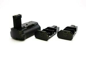 Original Canon BG-E3 Battery Grip EOS 350D 400D+2x BGM-E3L+E3A
