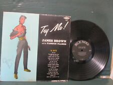 "James Brown ""TRY ME"" Smoking Gun Cover King 635 D/G Orig 1959 Vinyl Lp"
