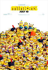 Minions IV A1 Movie Poster High Quality Canvas Art Print