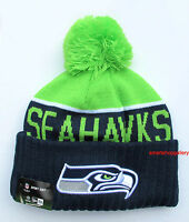 Seattle Seahawks On Field 2015-16 Sports Knit Cap Beanie Winter Hat Authentic