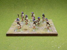 28mm Ancients ASSYRIAN SKIRMISHERS x8 Well Painted Wargames Foundry 39262