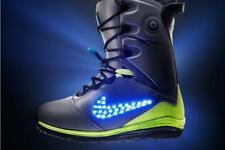 2013 NIB MENS NIKE LUNARENDOR QS LED SNOWBOARD BOOTS $880 OBO US 7.5 Grey
