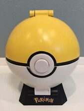 GUC RARE 2009 Jakks Nintendo Pokemon Yellow Pokeball Playset Mini