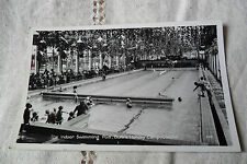 VINTAGE THE INDOOR SWIMMING POOL, BUTLINS HOLIDAY CAMP CLACTON POSTED POSTCARD