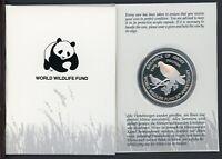 Jersey 1987 2 Pfund WWF Mauritius-Taube PP (MZ562