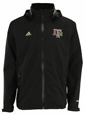 Adidas Ncaa Men's Texas A&m Aggies Gore-Tex Full Zip chaqueta de lluvia, Negro