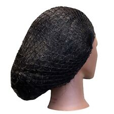Lot Of 2 Thin Black Hair Net Hairnet Hat Cover Hat Dreads FEXIBLE