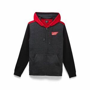 Casual Zip Hoodie > Alpinestars Spanner Cotton Fleece - Charcoal Heather 191