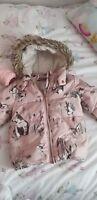 Baby girls next coat 12-18 months
