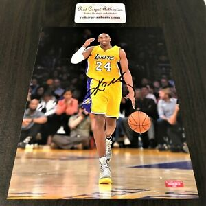 Kobe Bryant Signed 8x10 Certified Photo Autograph Signature Los Angeles Lakers