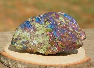 Rare Peacock Ore Bornite Epidote Sphalerite Quartz 143g Cleanse Balance Energy