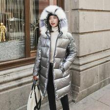 Cappotti, giacche e gilet da donna in argento pelliccia