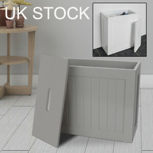 WOODEN BATHROOM STORAGE UNIT MULTIPURPOSE BATHROOM STORAGE CABINET BOX SLIMLINE