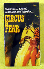 Circus of Fear ~ New VHS Horror Movie ~ Rare Sealed Alpha Video Release