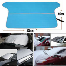 Car Front Window Sun Shade Visor Windshield Snow Frost Summer Winter Dual Cover