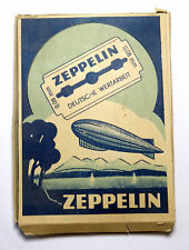 Original German WW 2 - 1 Pack Zeppelin Razor Blades