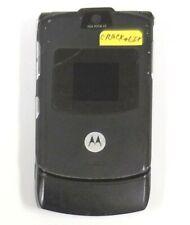 Motorola Razr / Razor V3 - Black and Silver ( At&T ) Cellular Flip Phone - Read