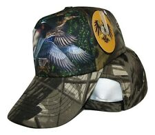 Redneck Camouflage  Camo Duck Ducks Hunting baseball style ball Hat Cap (RUF)