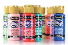 2oz Decoart Americana Acrylic Paint All Colours Art Craft Professional Artist