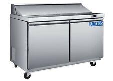 Kratos Refrigeration 69k 770 48w Sandwichsalad Prep Table 12 Pan Capacity