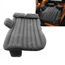 Black Car Travel Camping Air Bed Inflatable Mattress Back Seat Cushion Pillow