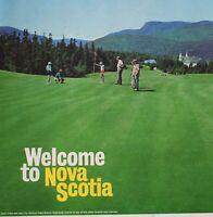 VINTAGE 1964 Magazine Page NOVA SCOTIA CAPE BRETON HIGHLANDS LINKS Golf Course