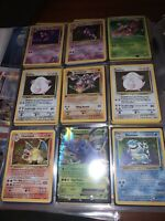 50 Original Vintage WOC Wizards Pokemon Cards Holo Rare •Read Description•