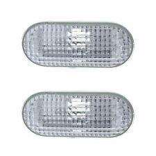 Ford Fiesta Mk6 2002-2009 Clear Side Indicator Repeaters Pair Left & Right