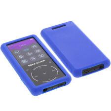 Tasche für Soulcker MP3 Player 16GB Schutz Hülle Silikon Silicon Blau