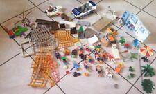 Gros Lot De Playmobil Police Avion Figurines