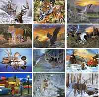 12 New Designs Large A3 Paint By Numbers Artist Kits with Brush & Paints Set