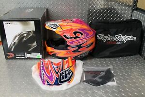 Troy Lee Designs SE3 Team Orange Off-Road MX Helmet Small New 109005702