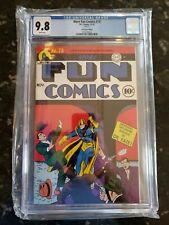Loot Crate Edition Reprint More Fun Comics 73 Cgc 9.8 1st Green Arrow & Aquaman