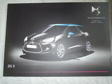 Citroen DS3 range brochure May 2015