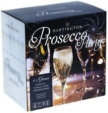 Dartington Crystal prosecco glass party pack set of 6