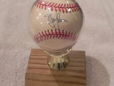 Randy Johnson Baseball w/ letter of Authenticity  Autograph W/ Ball Holder