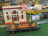 LIONEL PRE  WAR 520 FLOOD LIGHT CAR  STANDARD GAUGE GOOD ORIG COND 1931-40