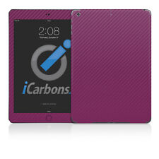 iPad Air Skin - Purple Carbon Fibre skin by iCarbons