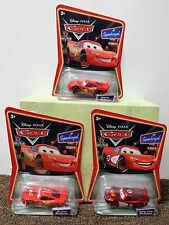 3-SET LIGHTNING MCQUEEN Dirt Track Radiator Springs Supercharged Disney Cars NEW