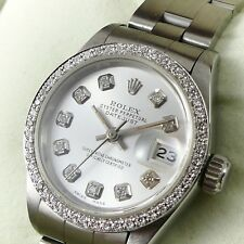 ROLEX LADY DATEJUST 69160 18K GOLDLÜNETTE DIAMANTEN DIAMOND AUTOMATIK 26MM 1991