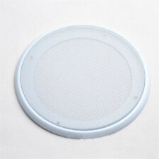 """16pcs White Universal 5"""" Subwoofer Speaker Metal Waffle Cover Guard Grill"""