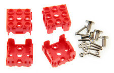 Lot de 4 supports pour module Grove 1 x 1 rouge - SEE485RED-LT4