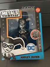 """Jada Harley Quinn Chaser Chase Figure 4"""" inches DC Comics DieCast"""